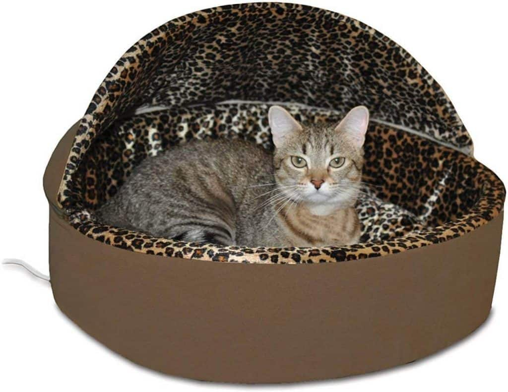 K&H Pet Products Thermo-Kitty Heated Deluxe Bed
