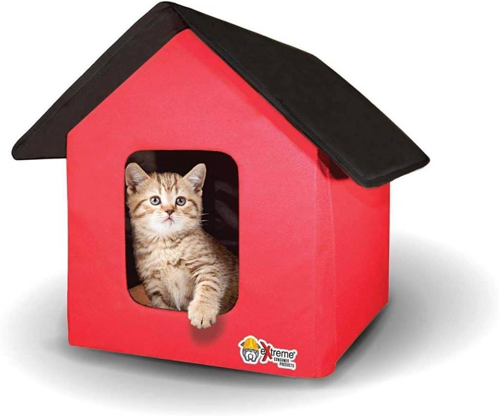 Extreme Consumer Products Collapsible Pet Cat House