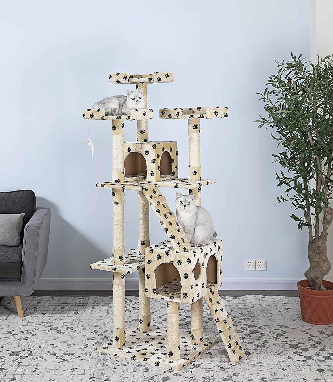 "Go Pet Club 72"" Cat Tree"