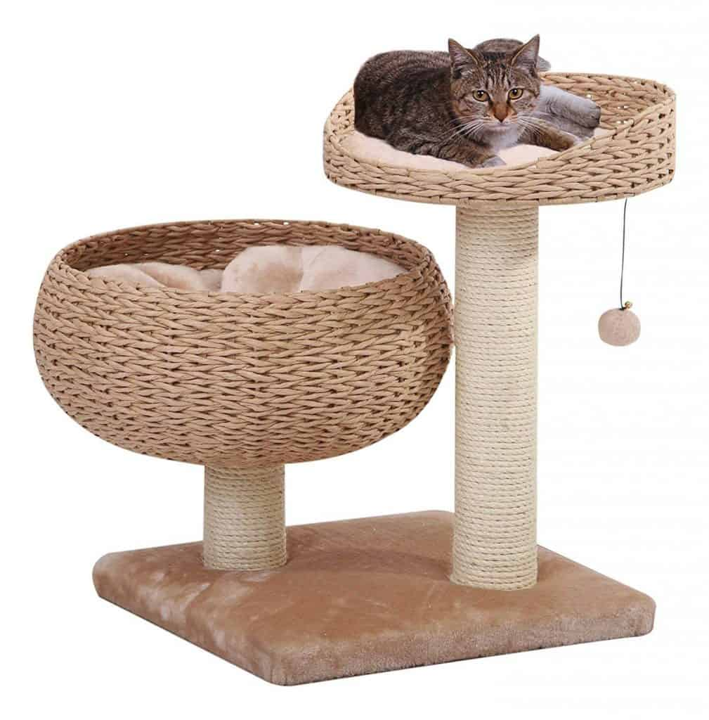 PetPals Paper Rope with Perch Cat Tree