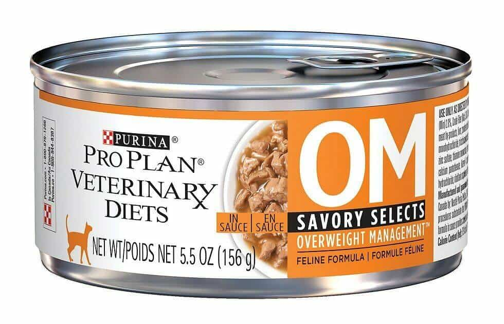 Purina Veterinary Diets Savory Selects OM Canned Cat Food