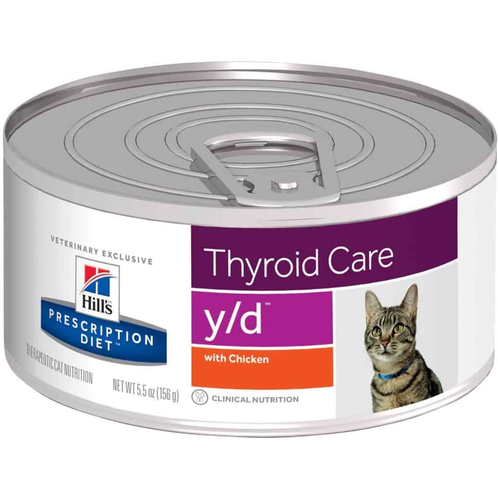Hill's Prescription Diet y/d Feline Thyroid Health Canned Cat Food
