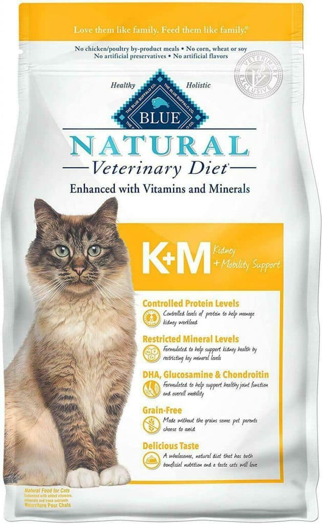 Blue Buffalo Natural Veterinary Diet Kidney + Mobility Support for Cats