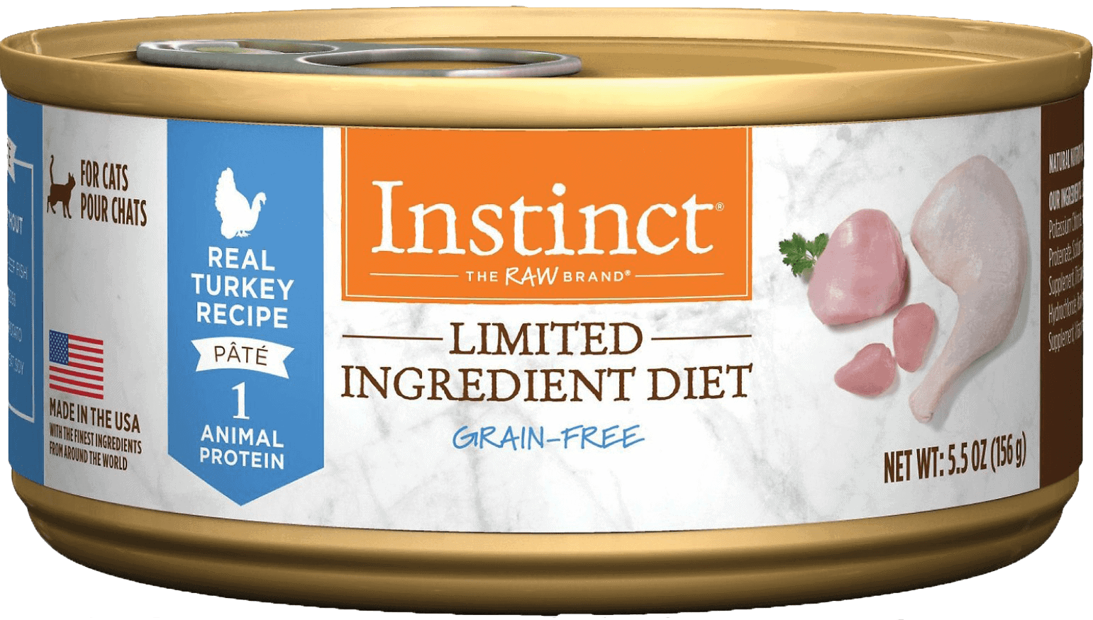 Instinct Limited Ingredient Diet Grain-Free Recipe Natural Wet Canned Cat Food1