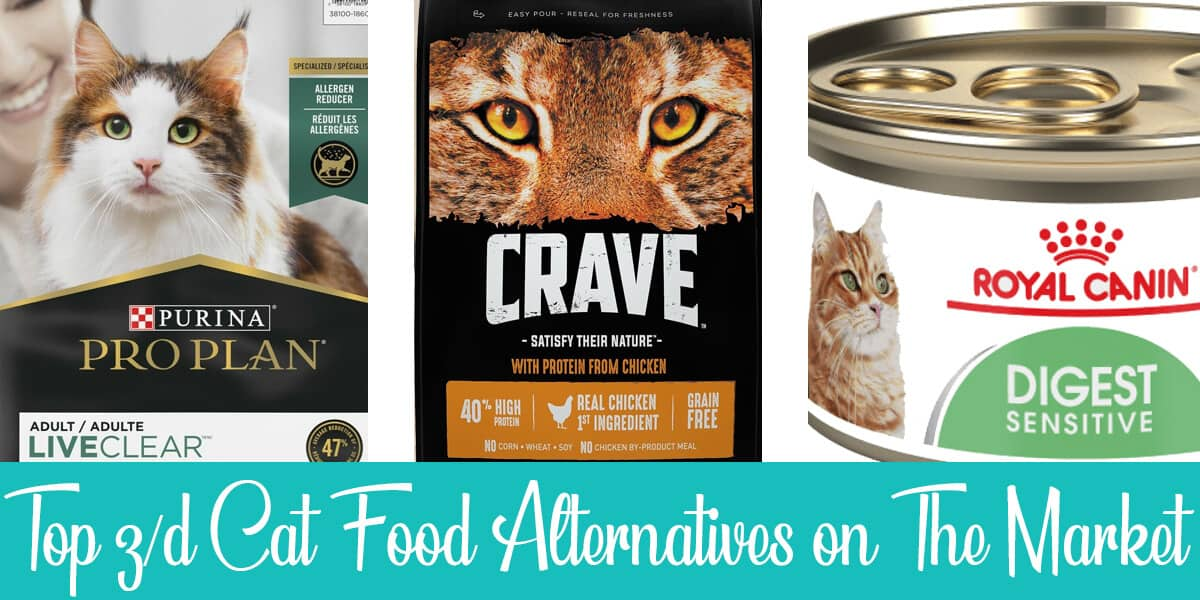 Top z/d Cat Food Alternatives