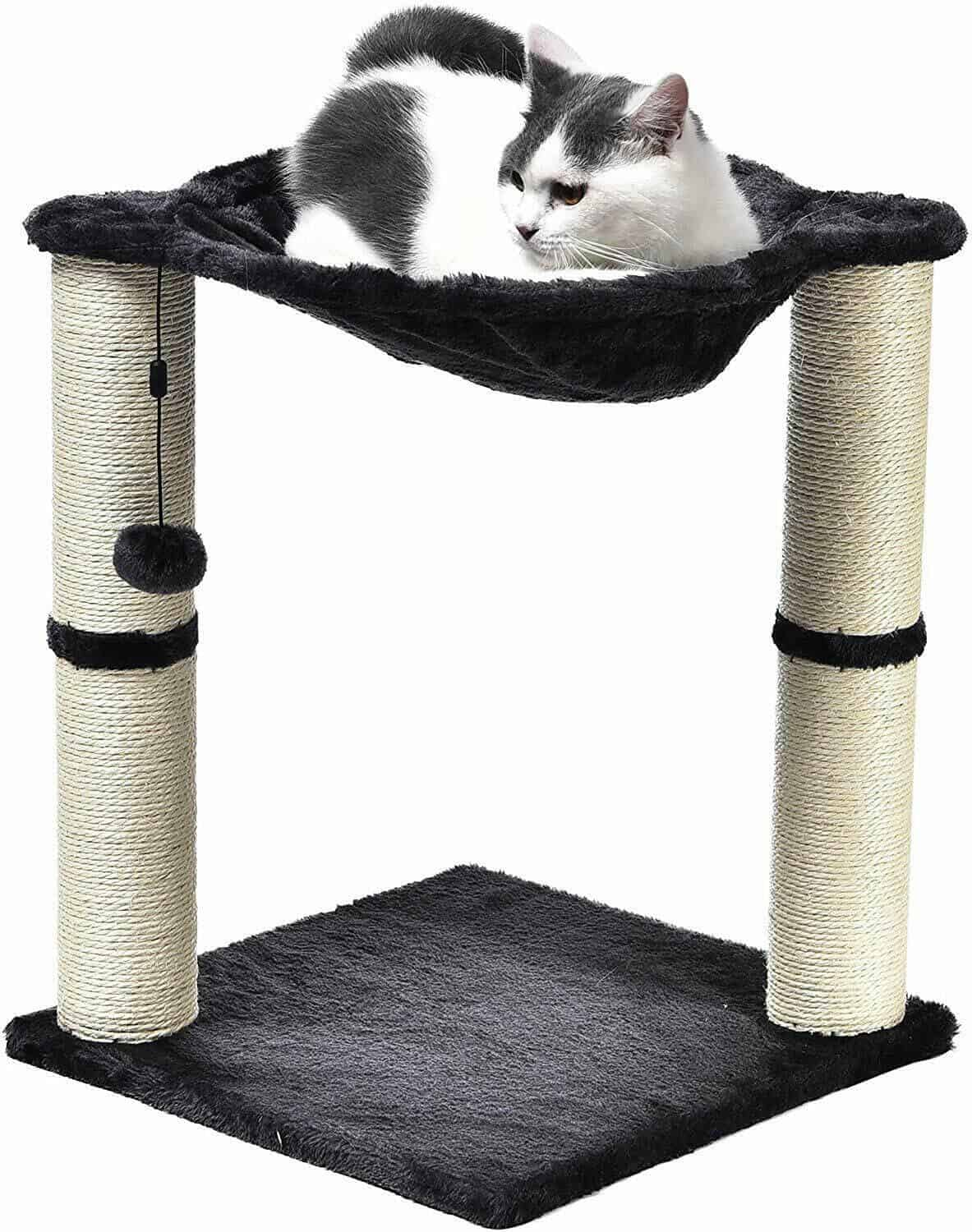 AmazonBasics-Cat-Scratching-Post-and-Hammock-Runner-Up