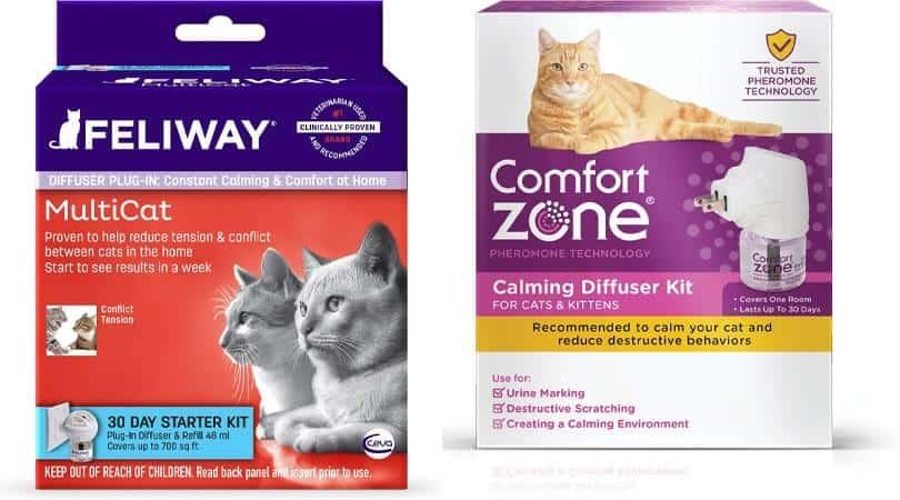 Feliway vs comfort zone