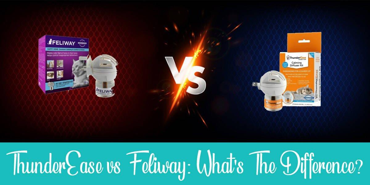 Thunderease vs feliway