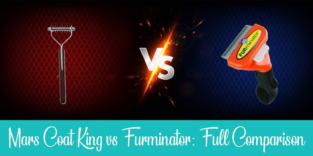 Mars Coat King vs. Furminator