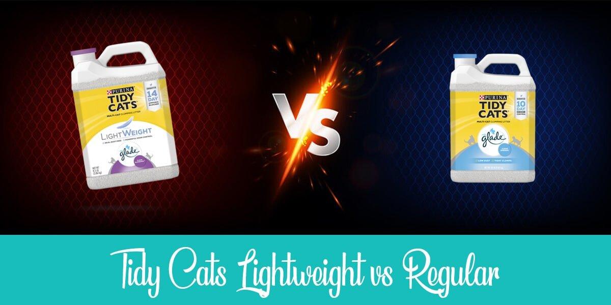 Tidy Cats Lightweight vs Regular: Which Litter is Better?